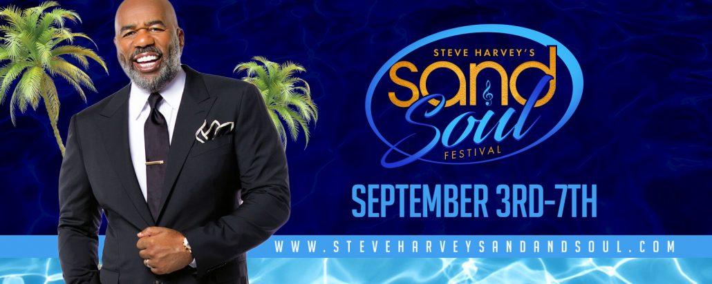 Sand And Soul Festival 2020.Home Steve Harvey Sand And Soul